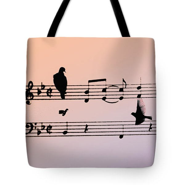Songbirds Tote Bag by Bill Cannon