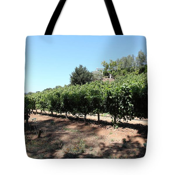 Sonoma Vineyards In The Sonoma California Wine Country 5D24499 Tote Bag by Wingsdomain Art and Photography