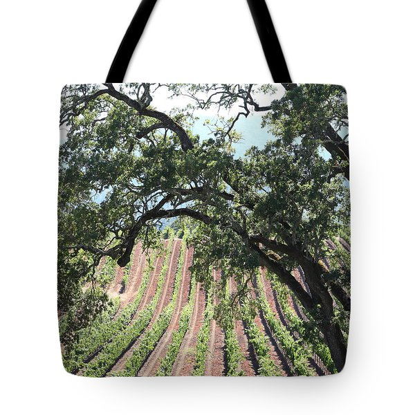Sonoma Vineyards In The Sonoma California Wine Country 5d24619 Vertical Tote Bag by Wingsdomain Art and Photography