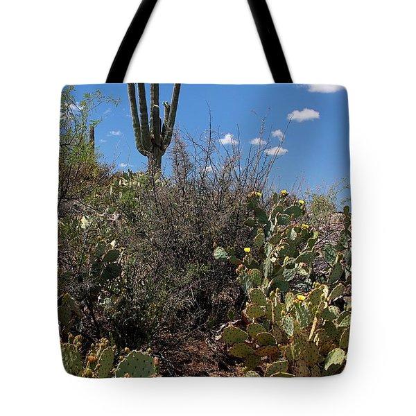 Sonoran Desert Spring Tote Bag by Joe Kozlowski