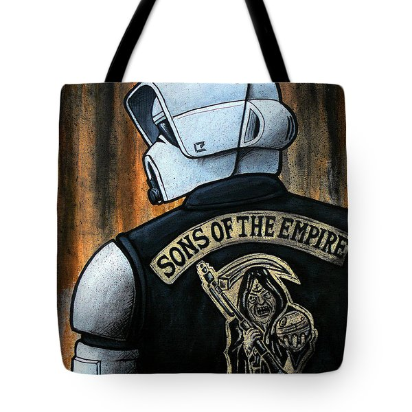 Sons Of The Empire Tote Bag by Marlon Huynh