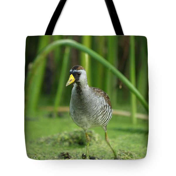 Sora Motion Portrait Tote Bag by James Peterson