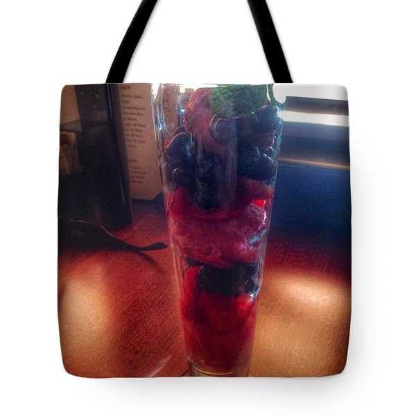 Sorbet Break Tote Bag by Susan Garren