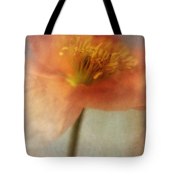 Soulful Poppy Tote Bag by Priska Wettstein