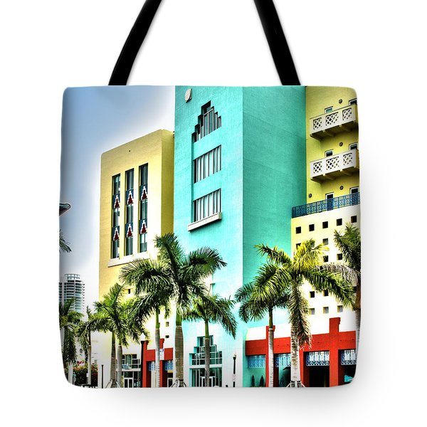 South Beach Tote Bag by Michelle Wiarda