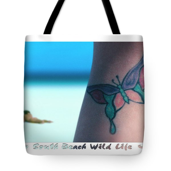 South Beach Wild Life Tote Bag by Mike McGlothlen