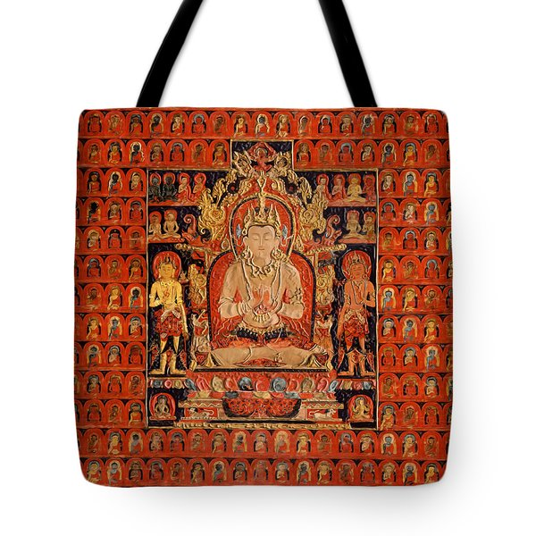 South East Asian Art Tote Bag by Corporate Art Task Force