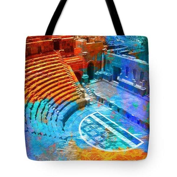 South Theatre Jordan Tote Bag by Catf