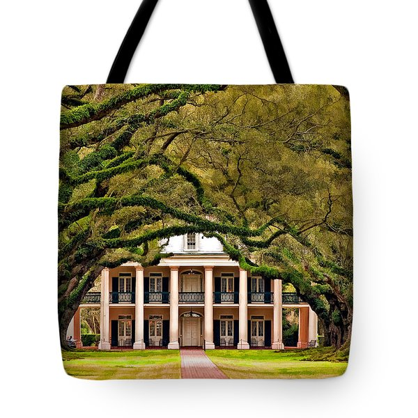 Southern Class painted Tote Bag by Steve Harrington
