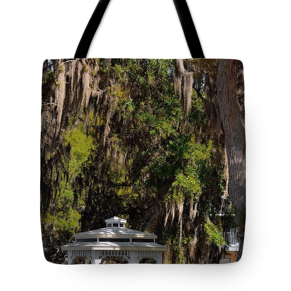 Southern Gothic In Mount Dora Florida Tote Bag by Christine Till