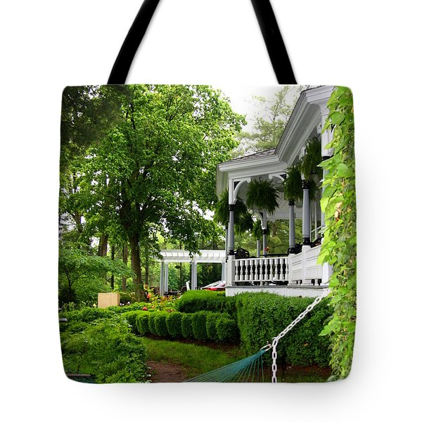 Southern Hospitality Tote Bag by Patti Whitten