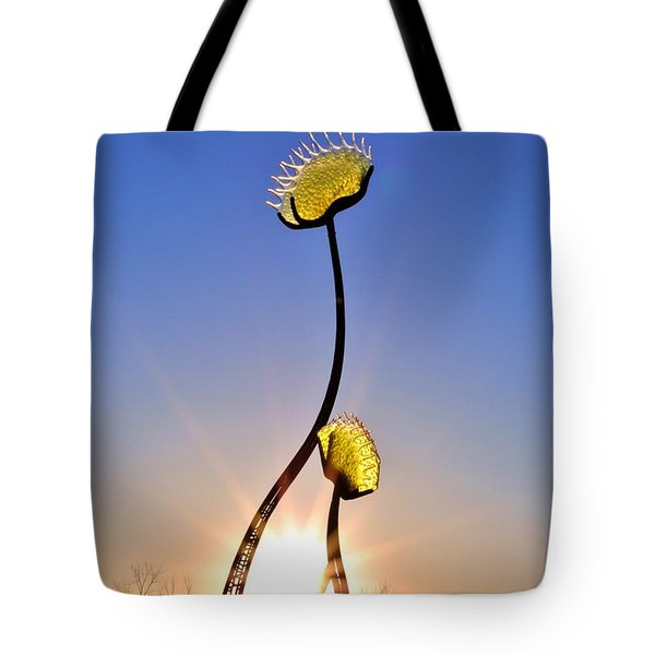 Southern Hospitality Sculpture Tote Bag by Kelly Nowak