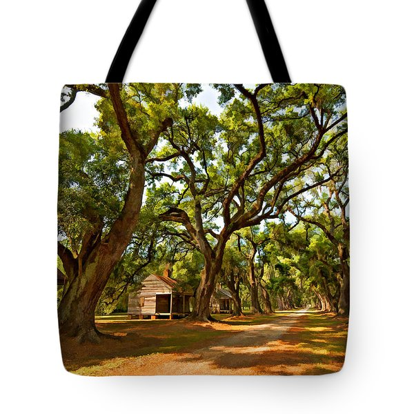 Southern Lane paint filter Tote Bag by Steve Harrington