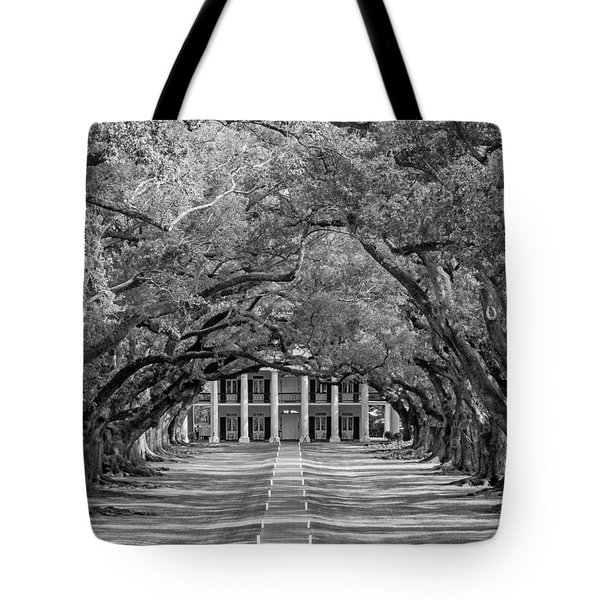 Southern Time Travel bw Tote Bag by Steve Harrington