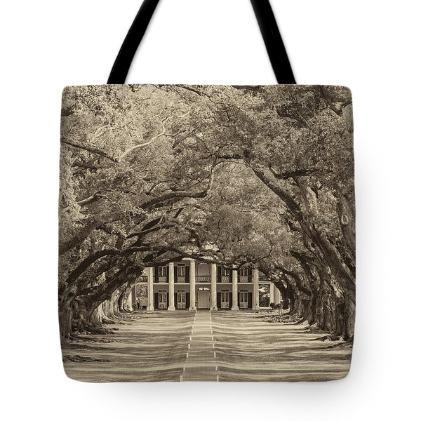 Southern Time Travel sepia Tote Bag by Steve Harrington