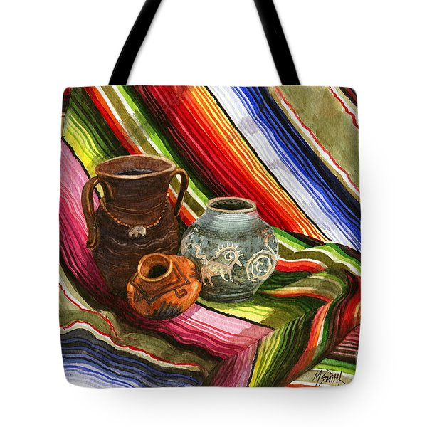 Southwest Still Life Tote Bag by Marilyn Smith