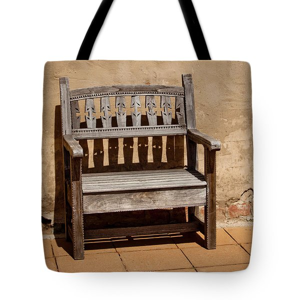 Southwestern Bench Tote Bag by Art Block Collections