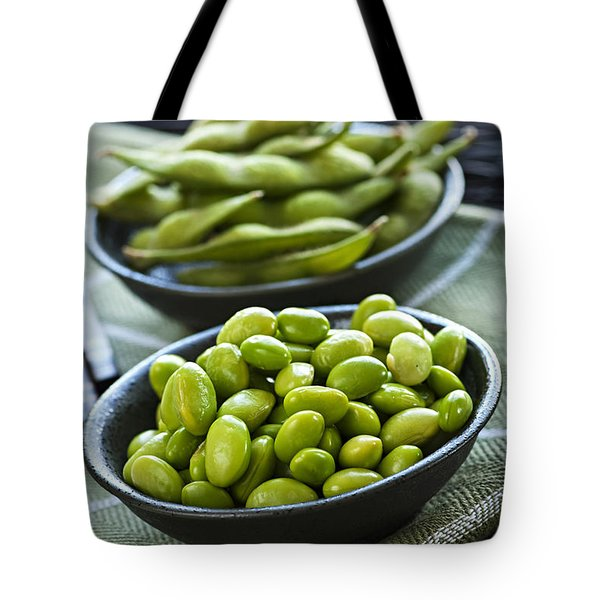 Soy Beans  Tote Bag by Elena Elisseeva