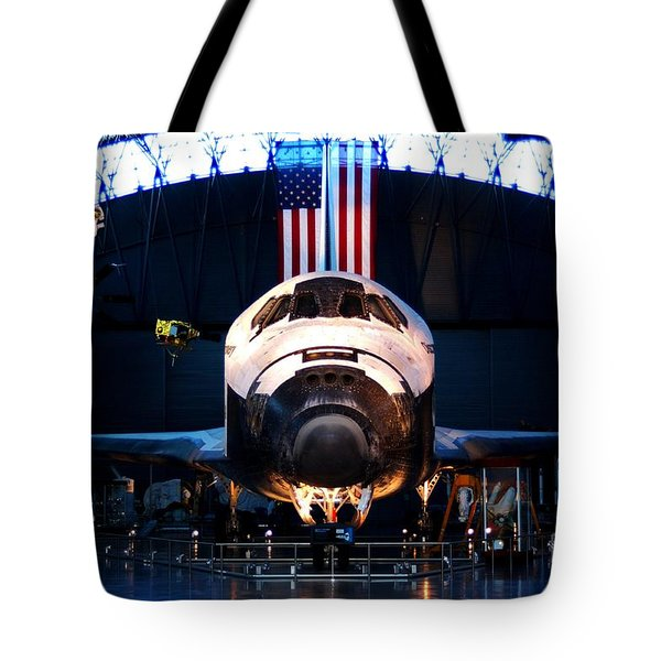 Space Shuttle Discovery Tote Bag by Patti Whitten