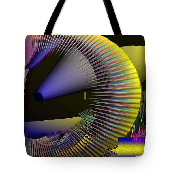 Space Station 3000 Tote Bag by Robert Margetts