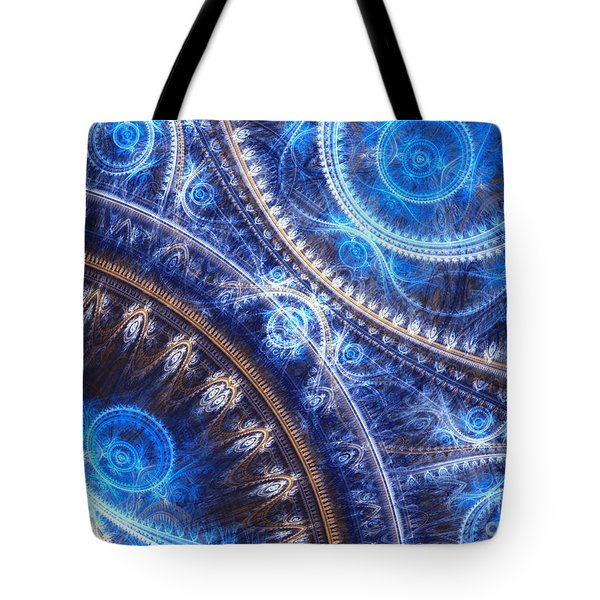 Space-time Mesh Tote Bag by Martin Capek