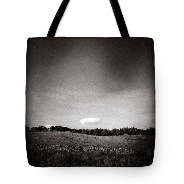 Spaceship Tote Bag by Dave Bowman