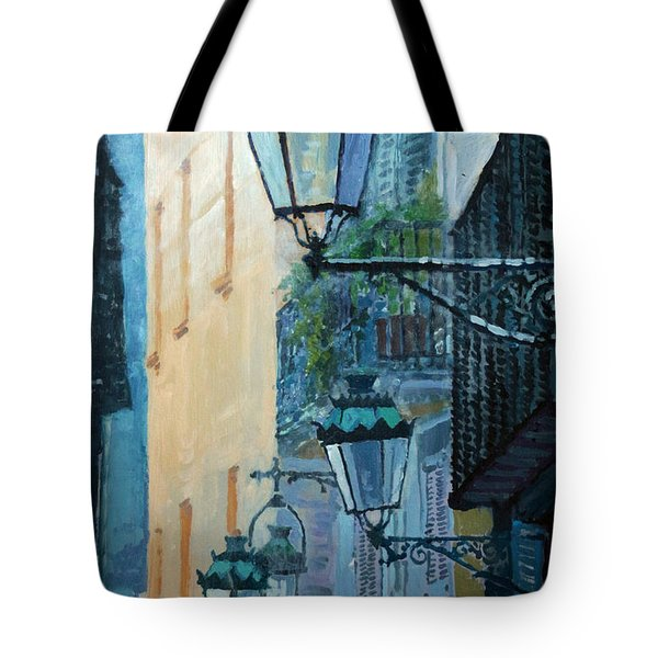 Spain Series 07 Barcelona  Tote Bag by Yuriy Shevchuk