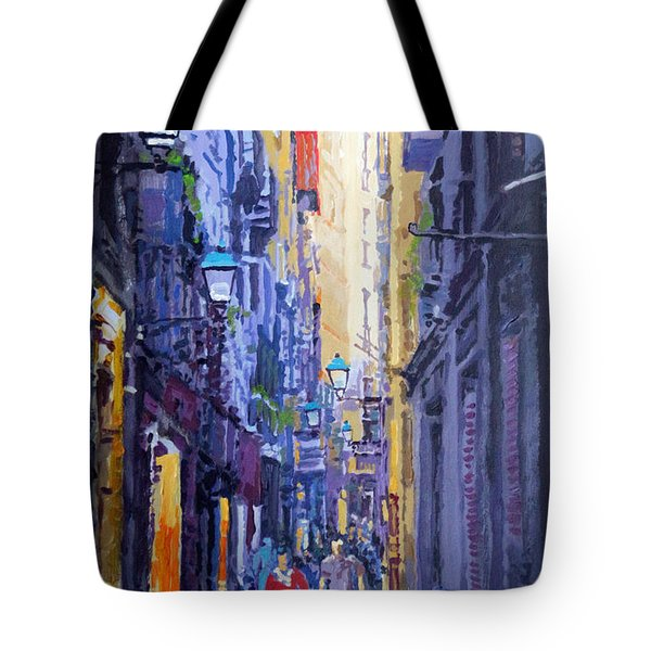 Spain Series 10 Barcelona Tote Bag by Yuriy Shevchuk