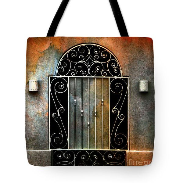 Spanish Influence Tote Bag by Barbara Chichester