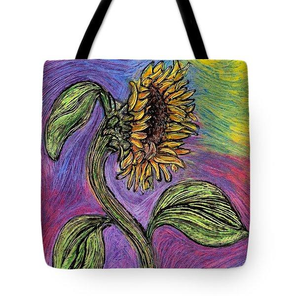 Spanish Sunflower Tote Bag by Sarah Loft