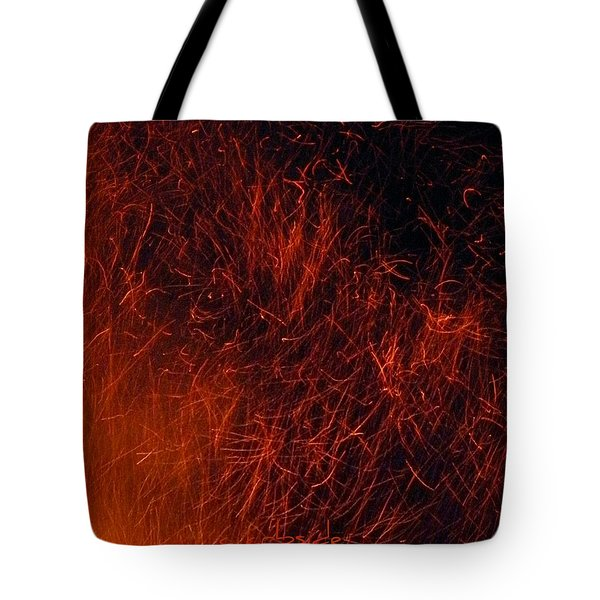 Sparks Tote Bag by Chris Berry