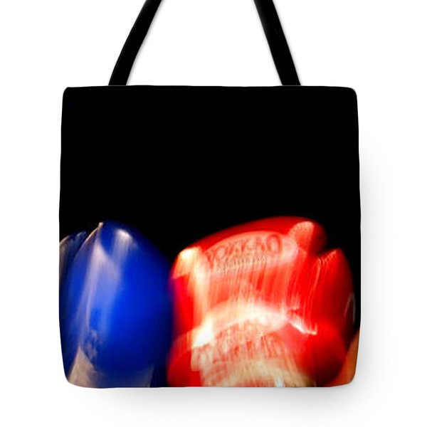 Sparring Tote Bag by Justin Woodhouse