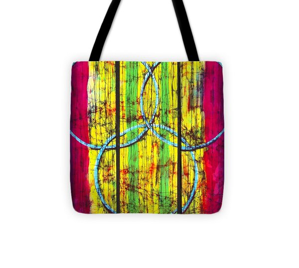 Spectrum Tote Bag by Kay Shaffer