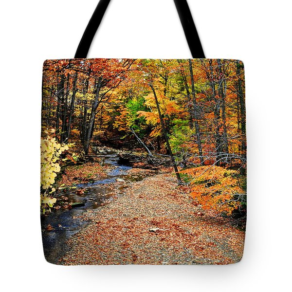 Spectrum Of Color Tote Bag by Frozen in Time Fine Art Photography