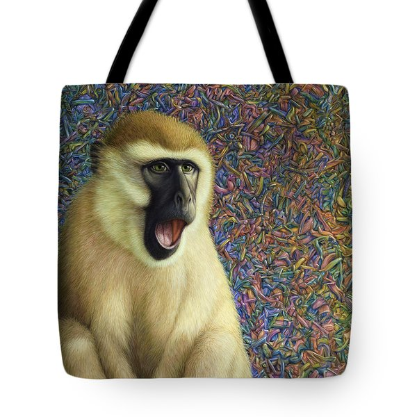 Speechless Tote Bag by James W Johnson