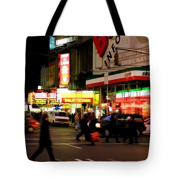 Speed Tote Bag by Joann Vitali