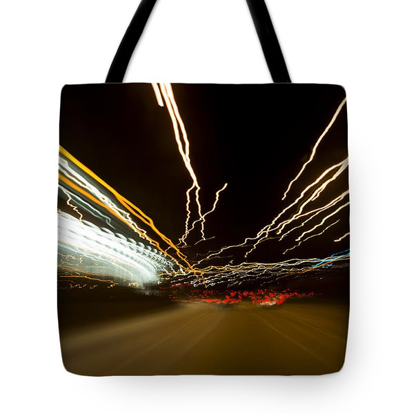 Speed Tote Bag by Sebastian Musial