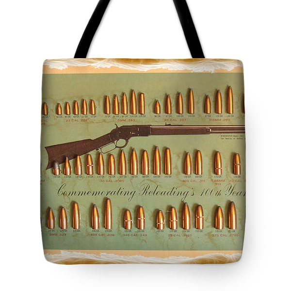 Speer Bullets Tote Bag by Cheryl Young