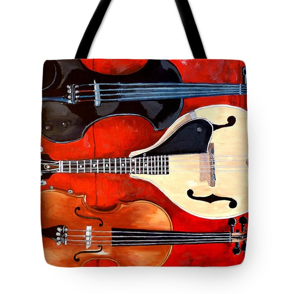Spencer Who Murphy And Lee Tote Bag by Tom Roderick