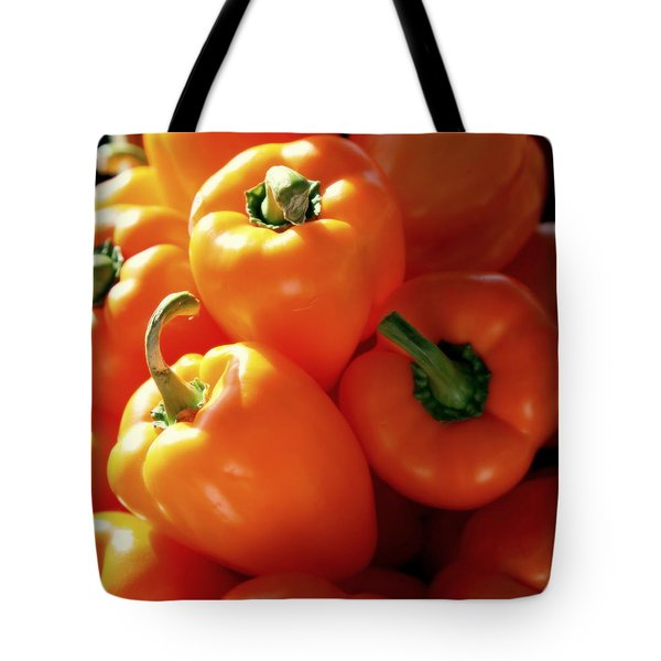 Spice It Up Tote Bag by Karen Wiles
