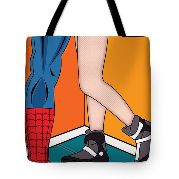 Spiderman 7 Tote Bag by Mark Ashkenazi