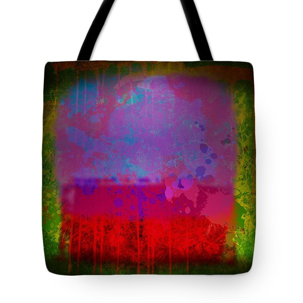 Spills And Drips Tote Bag by Gary Grayson