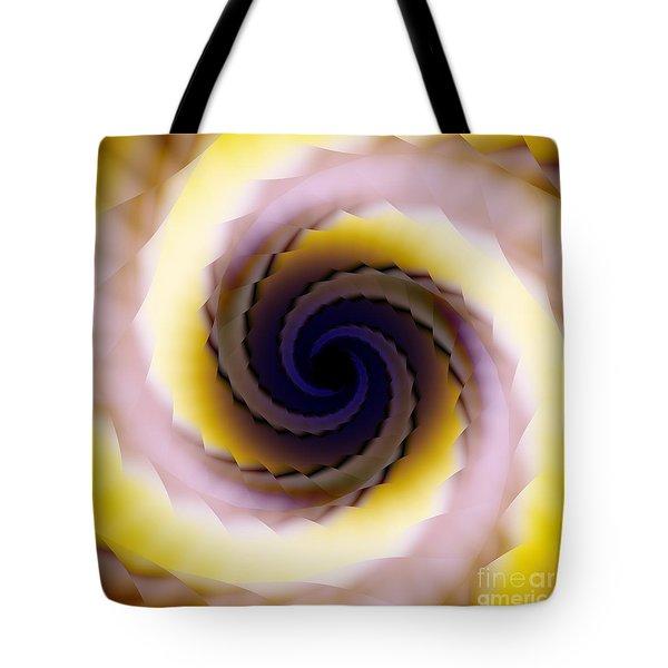 Spiral Tote Bag by Elizabeth McTaggart
