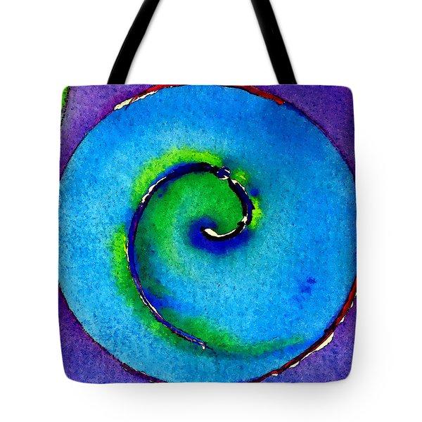 Spiral I Tote Bag by James Elmore