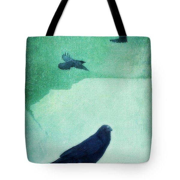 Spirit Bird Tote Bag by Priska Wettstein