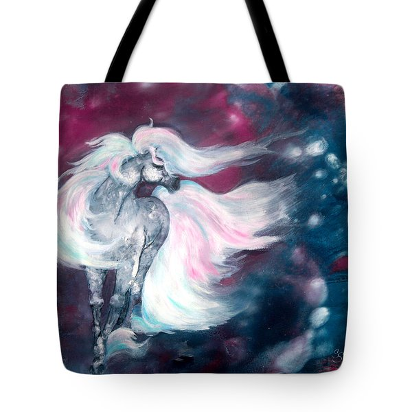 Spirit Horse Tote Bag by Sherry Shipley