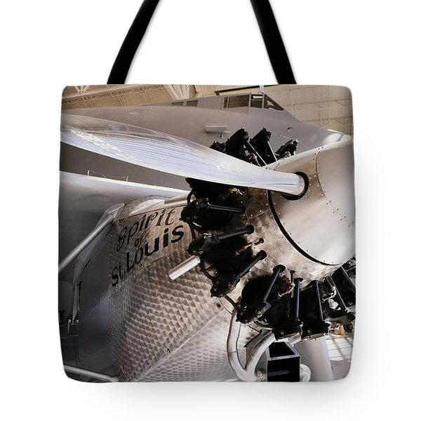 Spirit of St. Louis Tote Bag by Michelle Calkins