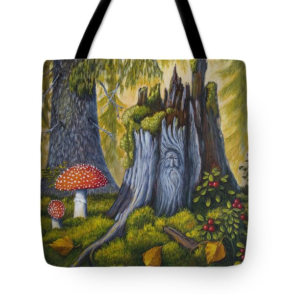 Spirit Of The Forest Tote Bag by Veikko Suikkanen