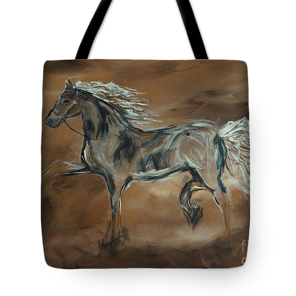 Spirited Tote Bag by Leslie Allen