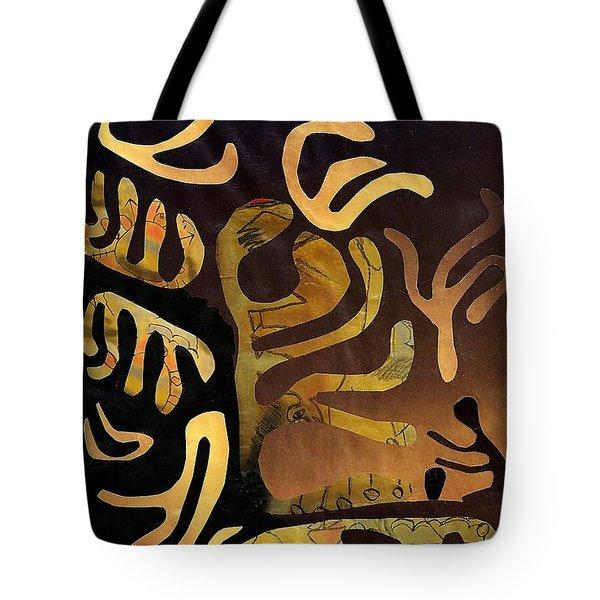Spiritual Drummer Tote Bag by Sarah Loft